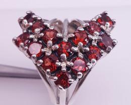 Natural Garnet gorgeous  Ring