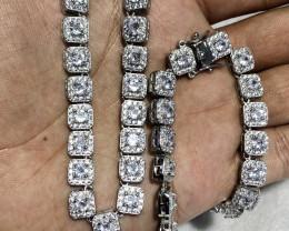 Silver Chain 925 amazing design 74.5g