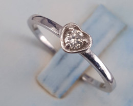 Natural Diamonds Ring.