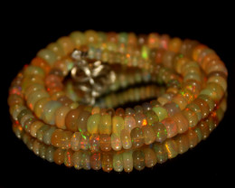 67 Crt Natural Ethiopian Welo Opal Necklace 3085