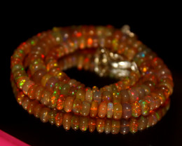 62 Crt Natural Ethiopian Welo Opal Necklace 3002