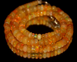 92 Crt Natural Ethiopian Welo Opal Necklace 3031