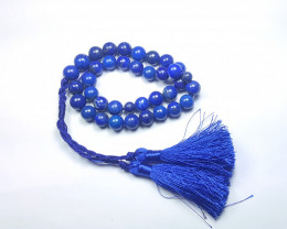 240 Ct Natural Blue Lapis lazuli Beads Necklaces TOP Quality