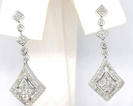 Diamond Earrings 0.52 TCW