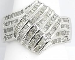 Natural Diamond Ring 1.00 TCW