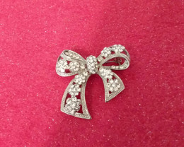 VINTAGE VICTORIA'S  SECRET RHINESTONE PIN / BROOCH