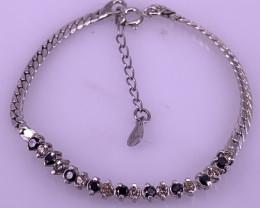 Natural Diamonds Bracelet TCW 0.85 carat