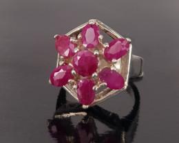Fantastic Design Ruby Ring