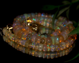 70 Crt Natural Ethiopian Welo Opal Necklace 3030