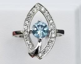 New Design Beautiful Topaz Ring