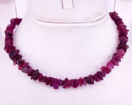 Natural Beautiful Rubelite Tourmaline Necklaces