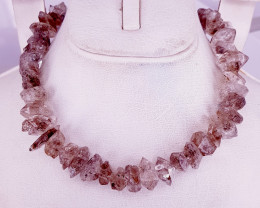 Natural Beautiful Rough Petroleum Quartz Necklaces