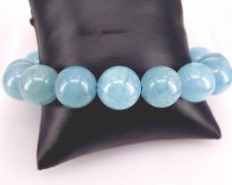 Natural Beautiful Aquamarine Bracelet