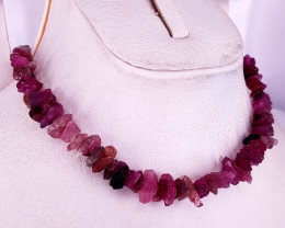 Natural Beautiful Rubilite  Necklaces