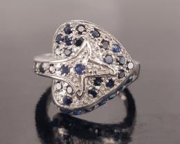 Beautifil Saphire Ring