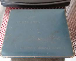 1955 TWA LUFTHANSA SUPER G 1049  CONSTELLATION MENS JEWLERY/CHANGE BOX