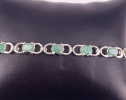 Natural Beautiful Emereld Bracelet