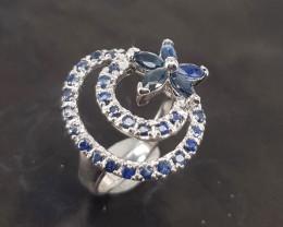 Natural Beautiful  Sapphire  Ring