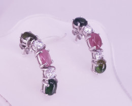 Natural Beautiful  Tourmaline Earrings