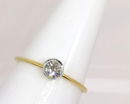 Diamond Solitaire Ring 0.25ct. - 10kt. Gold