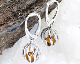 Baltic Amber Earring , direct from Poland RN203