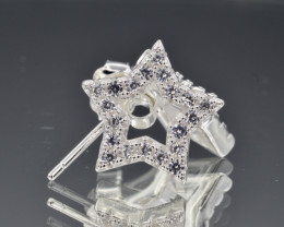 Star Stud Earrings 925 amazing design