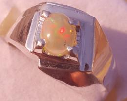 Natural Opal Handmade Ring.
