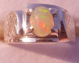 Natural Opal Ring.