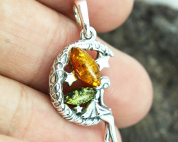 Baltic Amber Pendant , direct from Poland RN215
