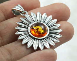 Baltic Amber Pendant , direct from Poland RN220