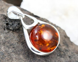 Baltic Amber Pendant , direct from Poland RN253