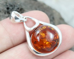 Baltic Amber Pendant , direct from Poland RN254