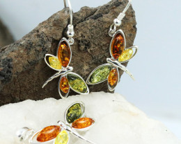 Baltic Amber Jewellery Set , direct from Poland RN262