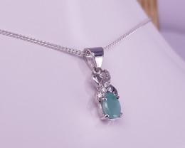 Natural Emereld pendant