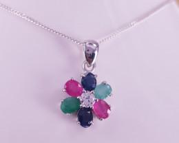 Beautiful New Design of Multi stones pendant