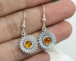 Baltic Amber Earring, direct from Poland RN324