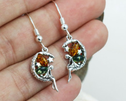 Baltic Amber Earring, direct from Poland RN328