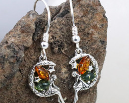 Baltic Amber Earring, direct from Poland RN329