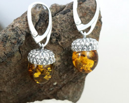 Baltic Amber Earring, direct from Poland RN333
