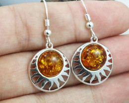 Baltic Amber Earring, direct from Poland RN338