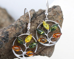 Baltic Amber Earring, direct from Poland RN341