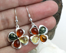 Baltic Amber Earring, direct from Poland RN358