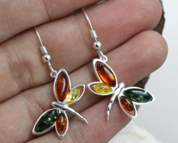 Baltic Amber Earring, direct from Poland RN360