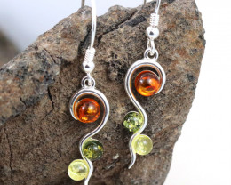 Baltic Amber Earring, direct from Poland RN367
