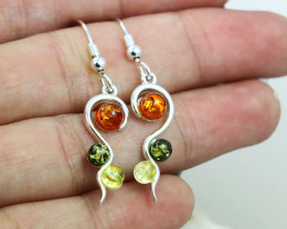 Baltic Amber Earring, direct from Poland RN368