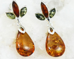 Baltic Amber Earring, direct from Poland RN370