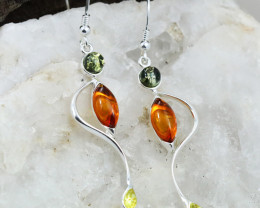 Baltic Amber Earring, direct from Poland RN373