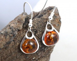 Baltic Amber Earring, direct from Poland RN378