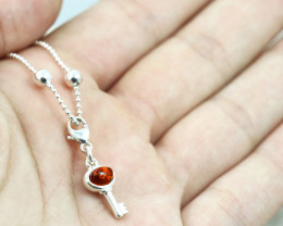 Baltic Amber Charm , direct from Poland RN391