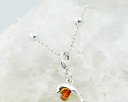 Baltic Amber Charm , direct from Poland RN413